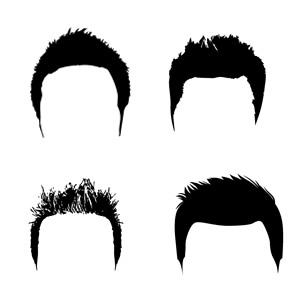 短髪の髪型