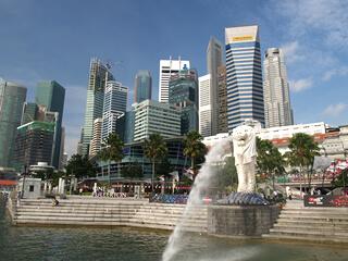 東南アジアの街