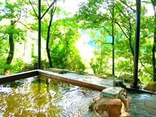 景色のいい温泉