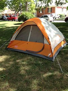 キャンプ用テント3