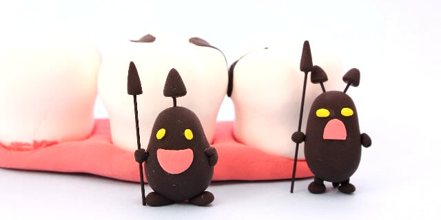 虫歯のイメージ