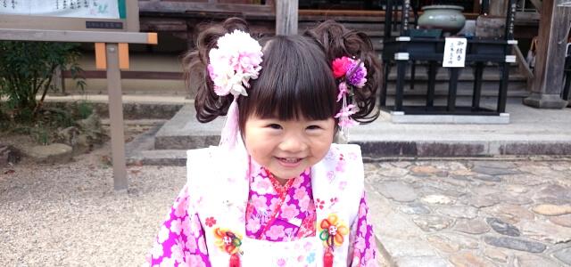 髪飾りが可愛い女の子2
