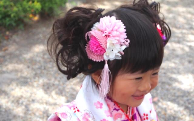 髪飾りが可愛い女の子3