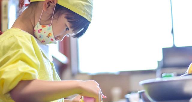 子供と手作りお弁当