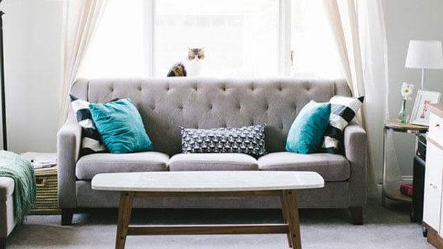 授乳のソファ