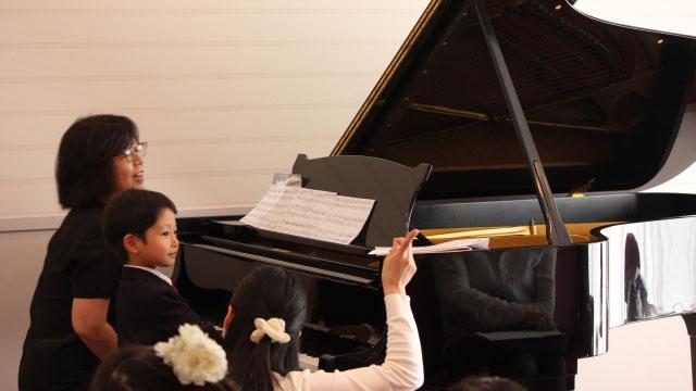 ピアノ発表会と子供