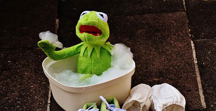 ぬいぐるみを洗濯