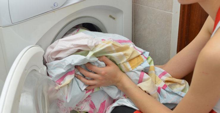 自宅で洗濯