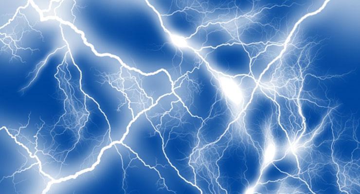 感電のイメージ