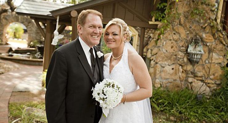 結婚する娘と父
