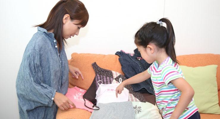 おさがりの子供服3