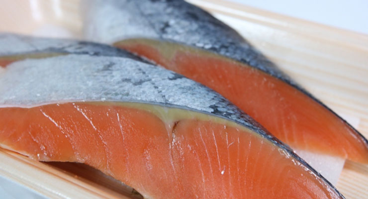 冷凍した魚