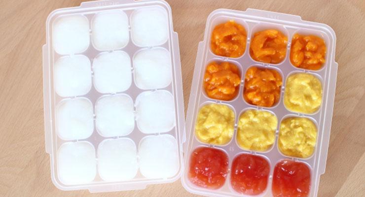 冷凍する離乳食2